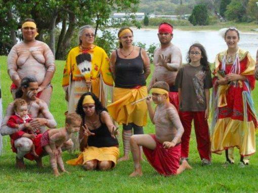 North American Indigenous delegates National Land Care Conference Visit